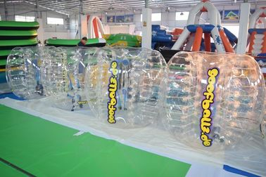 Cina Adult Sized TPU Inflatable Bumper Ball For Bubble Football Court pabrik