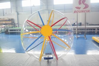 Cina 1.6m Diameter TPU & PVC Inflatable Water Ball With CE Certificate pabrik