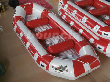 Inflatable Raft Boat Inflatable River Rakit Dengan Basis Tahan Lama