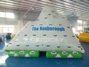 One Side Sliding and Three Sides Climbing Inflatable Water Iceberg