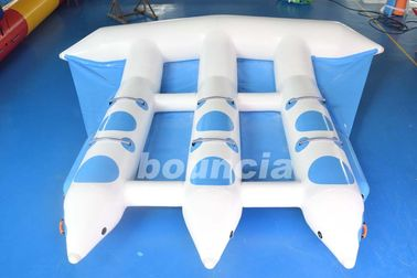 3 Tabung Towable Inflatable Flying Fish Tube Untuk Yatch