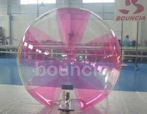0.7mm TPU Inflatable Water Walking Ball Dengan Soft Handle Untuk Permainan Air