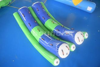 Cina 3.2mL*1.8mW Double Tubes Inflatable Water Totter For Adults pabrik