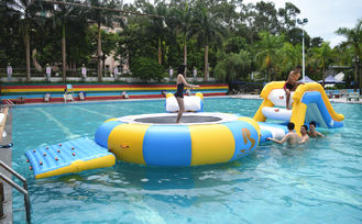 Cina Mini Inflatable Floating Water Park Equipment For Swimming Pool pabrik