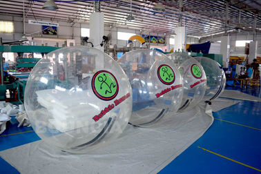 2m Diameter Transparan Inflatable Walk On Water Ball Untuk Kolam Renang