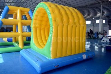 Cina Inflatable Water Sport Park Tunnel / Swimming Pool Water Games pabrik