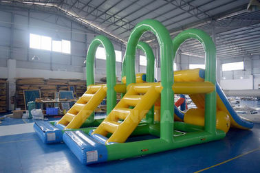 Supply Water Park Inflatable Aqua Menara Mengambang Air Terjun Untuk Danau