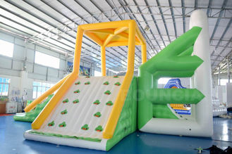 Cina 10mL * 9mW * 5.8mH Inflatable Water Sport Inflatable Floating Water Tower For Park pabrik