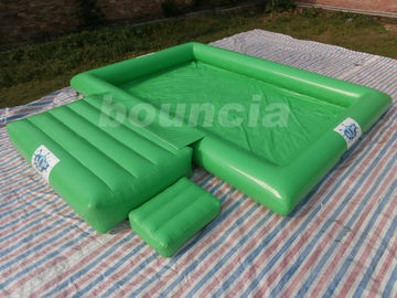 Cina 0.9mm PVC Tarpaulin Inflatable Water Pool With Platform For Water Ball pemasok