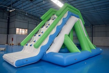 Cina Customized 0.9mm PVC Tarpaulin Inflatable Water Slide For Commercial Use pabrik