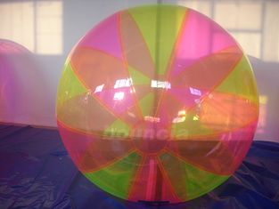 Cina Colorful Inflatable Water Ball , Inflatable Water Bubble For Water Games pabrik