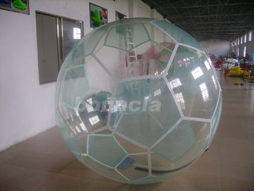 Cina Inflatable Soccer Water Walking Ball , Water Walking Ball  Used In Lake Or Pool pabrik