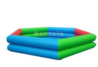 Cina Deep Inflatable Water Pool With Reinforcement  Strips For Water Ball pabrik
