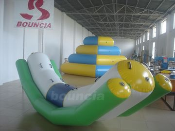Cina 4mL*1.2mW Inflatable Floating Water Totter For Water Games pabrik