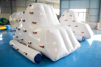 Cina Inflatable Iceberg Climber / Inflatable Iceberg Water Toy For Kids pabrik