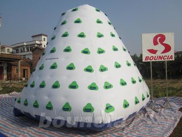 Cina Outdoor Commercial Grade PVC Tarpaulin Inflatable Iceberg For Water Park pabrik