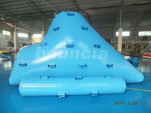 Cina Durable Inflatable Floating Iceberg For Climbing , Kids Inflatable Climbing Mountain pabrik