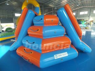 Cina Climbing Inflatable Water Slides For Seaside Or Swimming Pool pabrik