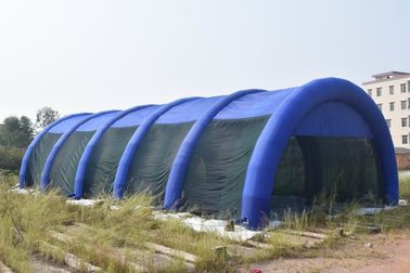 Cina 30m Long Large Inflatable Paintball Arena For Outdoor Activity pabrik
