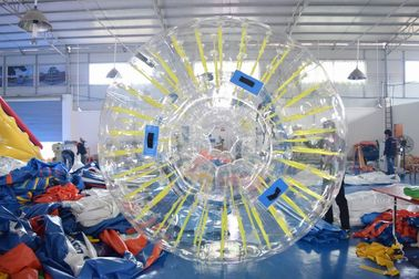 Cina PVC Or TPU Durable Inflatable Shinning Zorb Ball Used On Grassplot pabrik