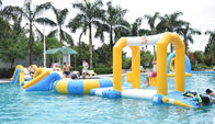 Cina Durable Inflatable Water Sports / Water Park Games For Pool  With TUV Certification perusahaan