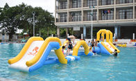 Durable Inflatable Water Sports / Water Park Games For Pool  With TUV Certification
