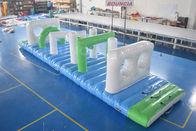 Kolam Renang Floating Inflatable Obstacle Course Dengan Tarpaulin PVC 0.9mm