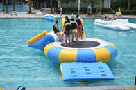 Inflatable Floating Water Park / Inflatable Water Sport Games For Pool pemasok