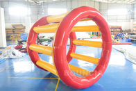 Cina PVC Tarpaulin Inflatable Hamster Wheel For Outdoor Water Activity perusahaan