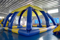 10mL * 10mW * 5mH Large Inflatable Swimming Pool With Tent Cover CE Approval