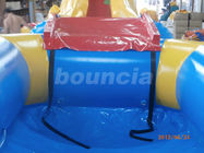 OEM / ODM PVC Tarpaulin Airtight Inflatable Water Slide For Lake Or Sea