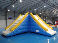 Exciting Inflatable Water Sport / 10 Person Inflatable Slide Tower