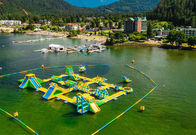 Giant Inflatable Water Park Games /  Harrison Exciting Aqua Park Equipment For Adults or Kids pemasok