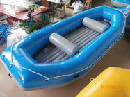 Blue River Rafting Boat With Inflatable Floor / Raft Inflatable Boat pemasok