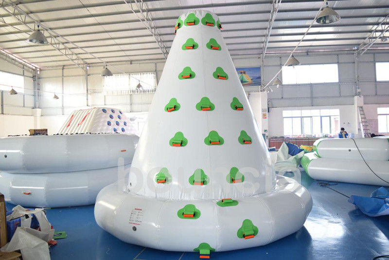 Kids Inflatable Water Sport , Large Inflatable Water Climbing Wall For Water Park pemasok