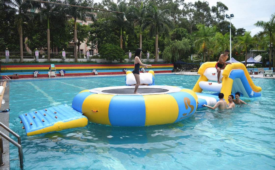 Mini Inflatable Floating Water Park Equipment For Swimming Pool pemasok