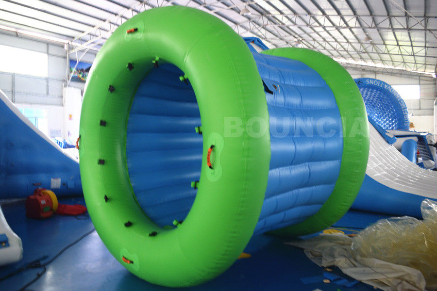 0.9mm PVC Tarpaulin Inflatable Water Walking Roller Ball With Durable Net Structure pemasok