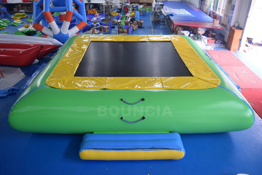 Water Park Commercial Grade PVC Inflatable Water Trampoline For Kids / Adults pemasok