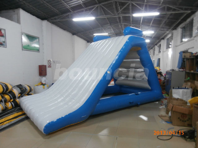 Custom PVC Tarpaulin Kids Inflatable Water Slide For Water Games