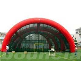 0.4mm PVC Tarpaulin Inflatable Paintball Arena / Inflatable Paintball Field pemasok