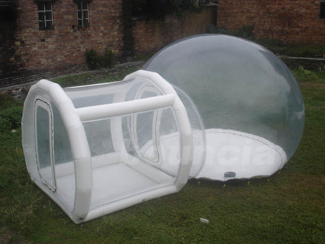 0.5mm TPU Inflatable Show Ball With 0.6mm PVC Tarpaulin Base And Tunnel pemasok