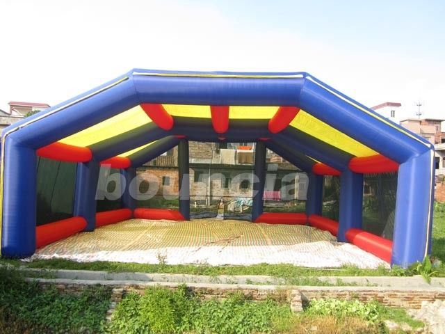 Durable Inflatable Paintball Field For Paintbll Sport Games