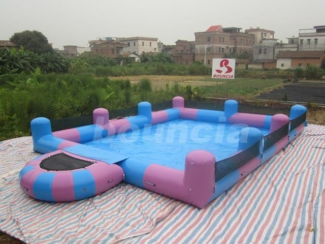 Water Walking Ball Inflatable Water Pool With Platform pemasok